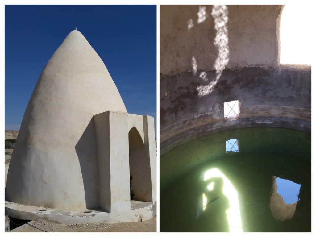 This was the first of many water storage structures (Obgir) we saw.