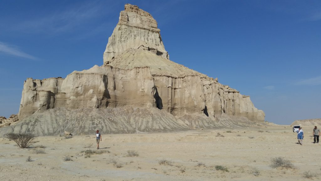 Like a castle, Statues Valley, Qeshm