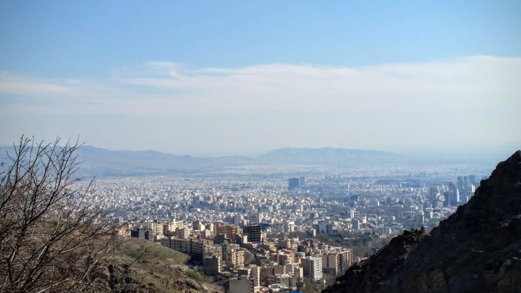 Tehran view from Darband.