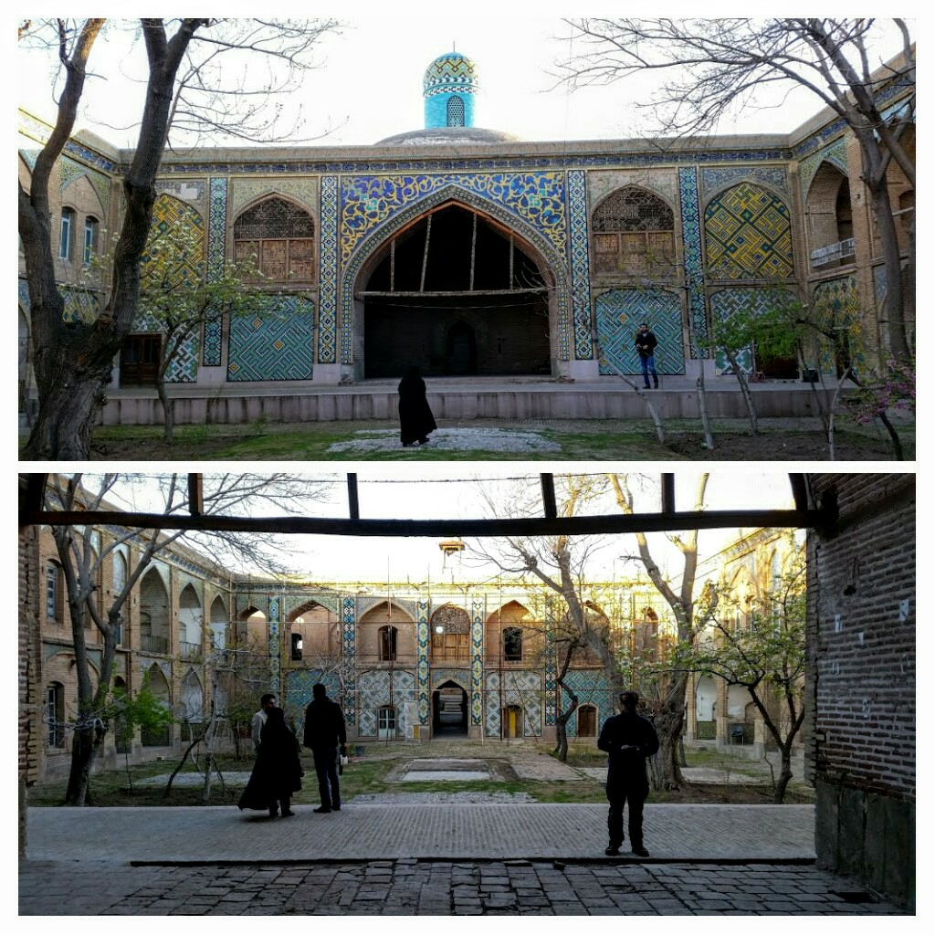 Sardar School & Mosque, Qazvin.
