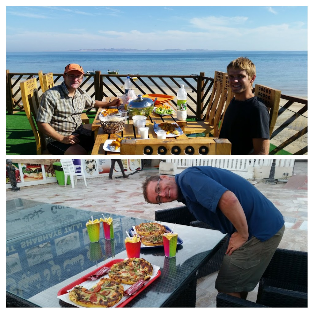 Pizza & lunch with sea views! Qeshm.